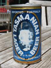 Vintage BEER Can: TASMANIAN Breweries Lager; CASCADE Brewery ~ Hobart, AUSTRALIA