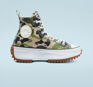 NIB*Mens*Converse Run Star Hike Archive *Ginger Green Camo*8-13*Sneaker