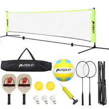 New listing 17x2ft Volleyball Net W/ Carry Bag Rope Official Size Outdoor Indoor Beach Funs