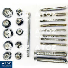 10 Pieces Valve Seat & Face Cutter Set Automotive Industry Leader EXPORT QUALITY
