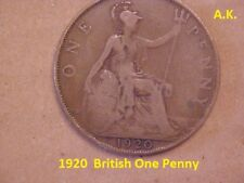 1920 British One  Penny