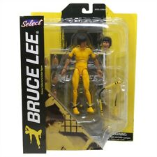 Diamond Select Action Figure : Bruce Lee (Yellow Suit) - Brand New