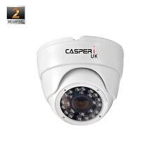 CCTV DOME CAMERA CASPERI 2MP HD 1080P TVI AHD 2.8MM OUTDOOR NIGHT VISION 4in1 UK