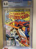 Amazing Spider-Man #189 CGC 8.0 Prof. Spencer Smythe & Man-Wolf Marvel Comics
