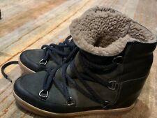 Isabel Marant Nowles Black Women Boot Size 38