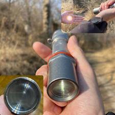 Optical Fresnel Lens Long Shot Flashlight Condenser Parallel Spot Straight Light
