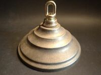 "5 1/2""  Cast Brass Ceiling Canopy Loop and parts included"