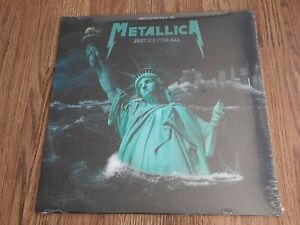 METALLICA - JUSTICE FOR ALL WOODSTOCK 1994 LP BLUE VINYL NEW SEALED