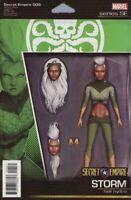 Secret Empire #5 Christopher Action Figure Variant Storm Marvel Comic 2017 NM