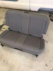 NEW 03-04-05-06 Jeep Wrangler TJ Flip Fold Rear Seat Cloth.  New OEM 2006 In CA