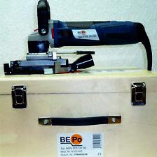 Montagefräse BEPO FFS 151 SE, drehbar um 180 Grad,  mit Eckschnitteinrichtung.