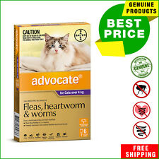ADVOCATE PURPLE Pack for Cats Over 4 Kg 6 Pipettes