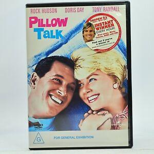 Pillow Talk DVD Rock Hudson Doris Day Tony Randall GC Free Tracked Post