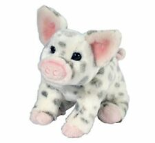 Douglas Pauline BLK SPOTTED PIG, SMALL Plush Toy Stuffed Animal NEW