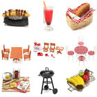 1:12 Cute Dollhouse Miniature Kids Toy Kitchen Food Cooking Furniture Decoration