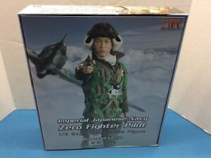 3R Imperial Japanese Navy Zero Fighter Pilot 1/6 scale figure WW 3 Reich New