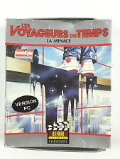 Juego Les Viajeros Du Temps La Amenaza Para PC Big Box / Caja Cartón