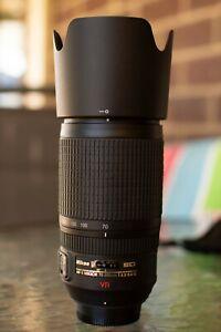 Nikon AF-S Nikkor 70-300 1:4.5-5.6 G VR Lens