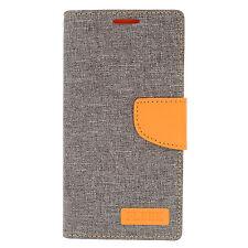 Samsung Galaxy S6 EDGE+ Plus Premium Fleek 2 Tone Wallet Flip Case +Screen Guard