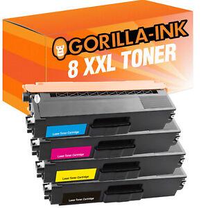 Laser Toner Kartuschen 8er Set für Brother TN 423 BK TN 423 C TN 423 M TN 423 Y