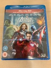 Avengers Assemble (3D Edition with 2D Edition) [Blu-ray] * New & Sealed *