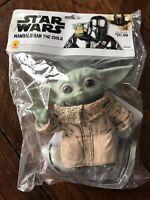 The Child Baby Yoda Star Wars Mandalorian Costume Prop Shoulder