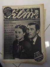 FILM  rara rivista di cinema e Teatro  n. 9. 1946. Com'era Verde La Mia Valle