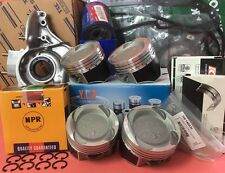 YCP 75.5mm Teflon Coated Vitara Pistons LowComp Kit HondaCivic D16Z6 Turbo 92-95