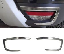 2018Up Dacia Duster Chrome Exhaust Deflector Frame 2pcs Stainless Steel