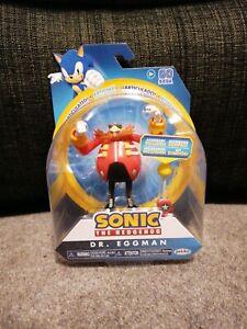 "Sonic The Hedgehog  4"" Doctor Dr Eggman Jakks Action figure Figure"