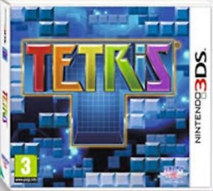 Tetris - Nintendo 3DS Game. Complete with case, manual & cart. Fast Dispatch !!