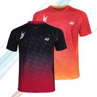 Hot! Lin Dan World Championships men's Clothes Tops tennis/badminton T shirts