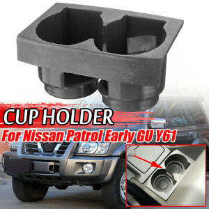Car Holder Bottle Stand Interior For Nissan Patrol Early GU Y61 Code K Cup Holde