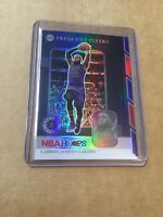 2019-20 NBA Hoops Lebron James Frequent Flyers Holo Foil No. 15 Lakers  SP /Rare