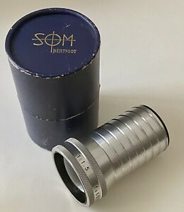 Objectif Lens SOM BERTHIOT 60mm f/1.5 (famille Angénieux Boyer Kinoptik Roussel)