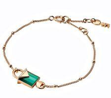 Michael Kors mkc1041AJ710 Bracelet 925er Silver Sterling Gold Plated Agate New