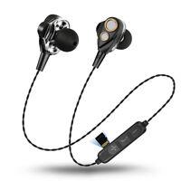 Bass In-Ear Earbuds Wireless Bluetooth Earphone Stereo Headset MP3 Headphones
