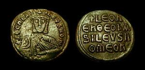 LEO VI the Wise AE Follis Constantinople