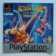 * INSTRUCTIONS SEULEMENT * Disney Hercules Manuel Playstation One 1 PSone PS1 PSX