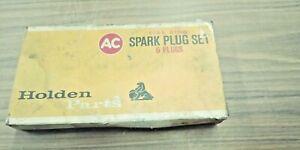 HOLDEN TORANA LC LJ XU1 NOS AC C 44 NS SPARK PLUG SET -,UNUSED -#7433327