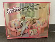 Living Pretty Barbie Mobilier Elegance Sofa / Bed & Chair / Lounger