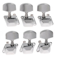 Guitar Tuning Pegs String Chrome Tuners Machine Heads Acoustic Electric Part