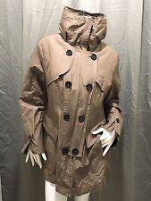 FUCHS SCHMITT Women Jacket Coat Size 42 (L / XL) Transition Jacket Hood