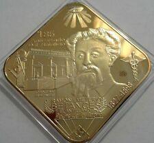 EMETERIO BETANCES Mason Cabo Rojo BRAU & COLBERG Puerto Rico ORO GOLD 1/50  65mm