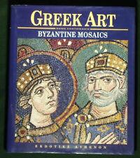 BOOK Byzantine Mosaics Greek Art medieval architecture Italian Cyprus Turkish