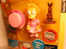 2003 The SIMPSON`s interactive figure WOS series 9  SUNDAY BEST LISA