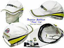New Henri Lloyd BRAWN F1 Team Baseball Cap JENSON BUTTON Adjustable