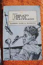 García Marquez. Relato de un naufrago. SIGNED. First Cuban Edition. PRIMERA.
