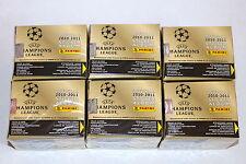 Panini UEFA CHAMPIONS LEAGUE 2010/2011 10/11 – 6 x DISPLAY BOX CAJITA sealed/OVP
