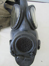 Vintage M17 Series Gas Mask - Medium 65 MSA 2E8 with satchel #2